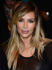 kim kardashian hair styles 2014