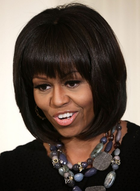 5 Michelle Obama Hairstyles Classic Haircut PoPular Haircuts
