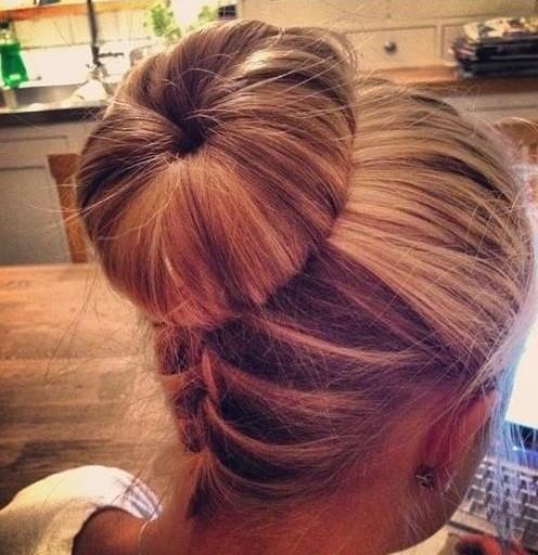 Top 20 Bun Updos You May Love PoPular Haircuts