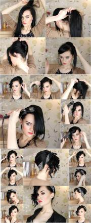 30 Pin Up Bandana Hairstyles Tutorial Hairstyles Ideas Walk The