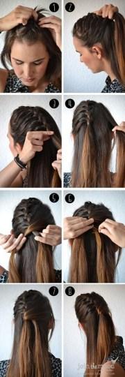 ponytail hairstyles tutorials