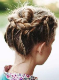 10 Updo Hairstyles for Short Hair - PoPular Haircuts