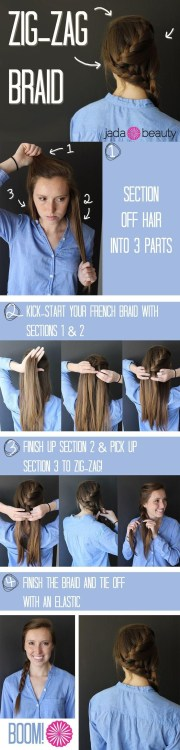 side braided hairstyle tutorial