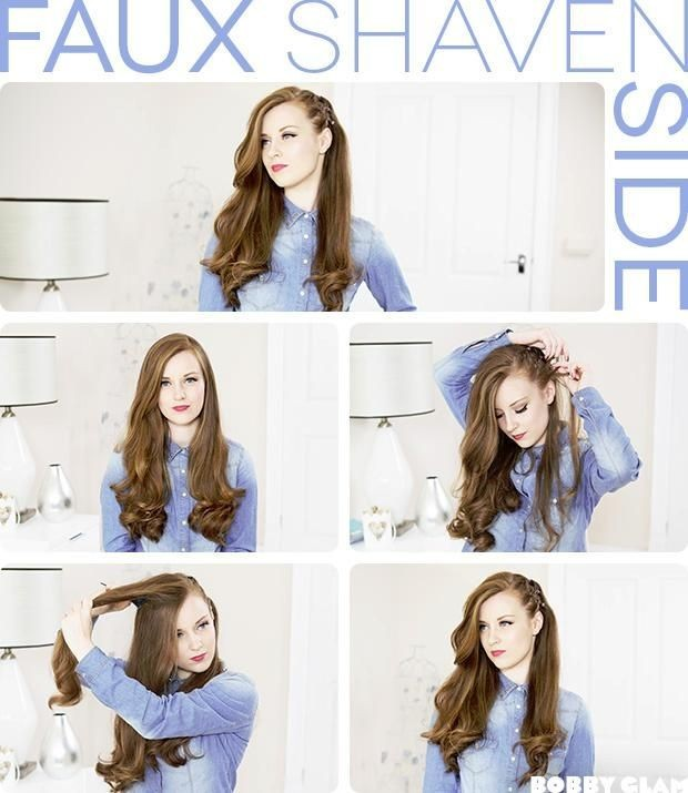 Side Hairstyle Tutorial Holiday Hair Styles For Long Hair