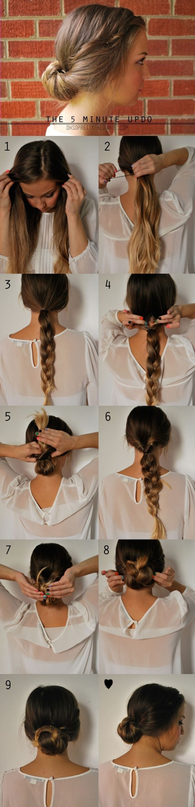 15 cute hairstyles: step-by-step hairstyles for long hair