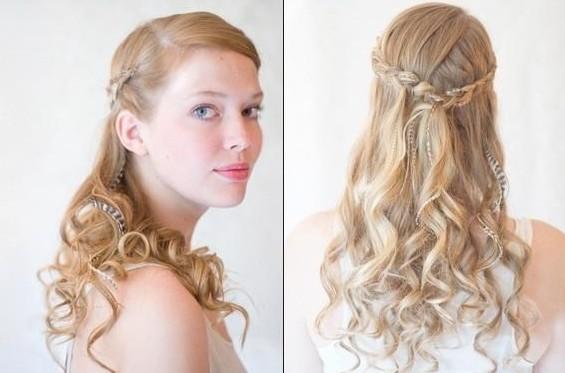 Long Bridesmaids Hairdos Long Hair Trend 2017