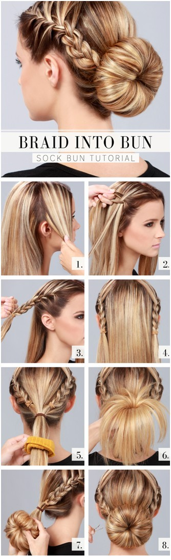 10 Ways To Make Cute Everyday Hairstyles Long Hair Tutorials