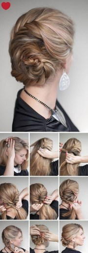 cute hairstyles step-step