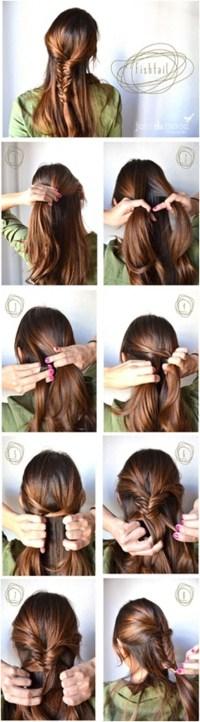Fishtail Braided Hairstyles Tutorials: Trendy Hairstyles ...