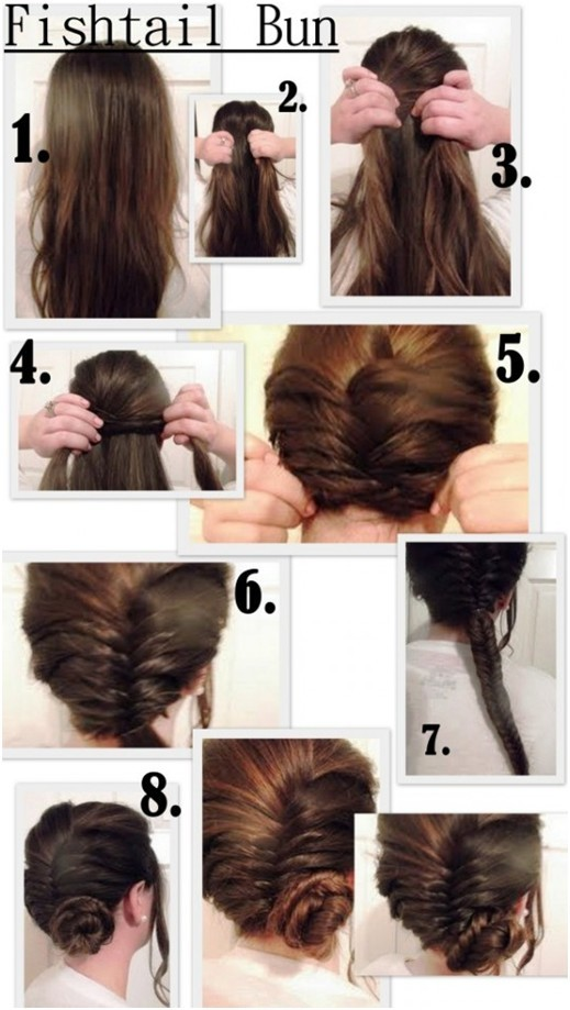 Step By Side Bun Hairstyles Step Hair Trend 2017