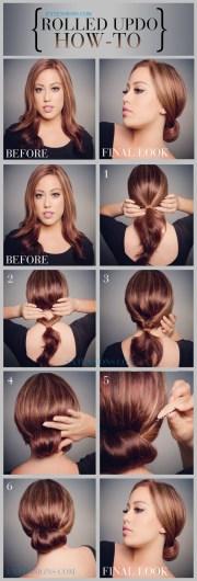 trendy bun updo hairstyles