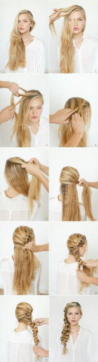 Step by Step Hairstyles for Long Hair: Long Hairstyles ...