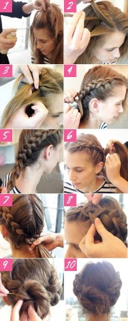 2014 holiday hairstyles cute braided