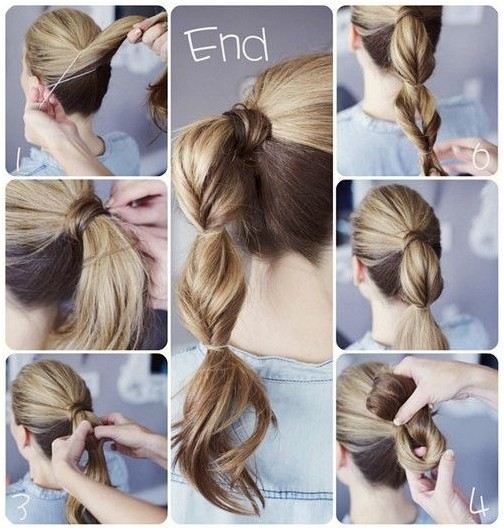 15 Cute And Easy Ponytail Hairstyles Tutorials PoPular Haircuts
