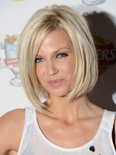 Beautiful Layered Bob: Short Haircut for Women Over 40