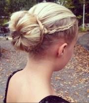 braided bun updos ideas - popular