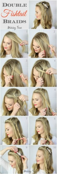 10 French Braids Hairstyles Tutorials: Everyday Hair