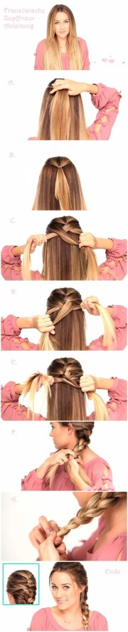french braids hairstyles tutorials