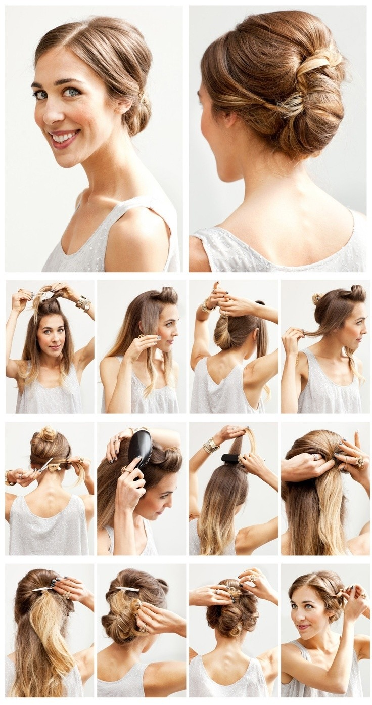 12 Hottest Wedding Hairstyles Tutorials for Brides and