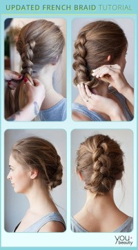 10 French Braids Hairstyles Tutorials: Everyday Hair ...