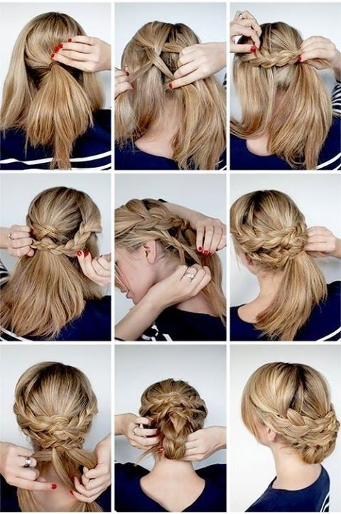 wedding hairstyles tutorial great elegant braided updo ideas for bridal