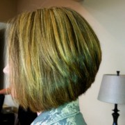 trendy -line bob hairstyles