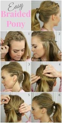14 Braided Ponytail Hairstyles: New Ways to Style a Braid ...