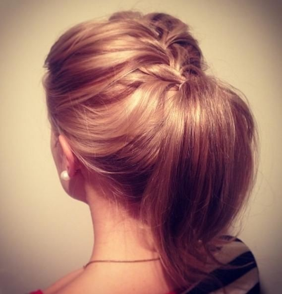 14 Braided Ponytail Hairstyles New Ways To Style A Braid Zöpfe