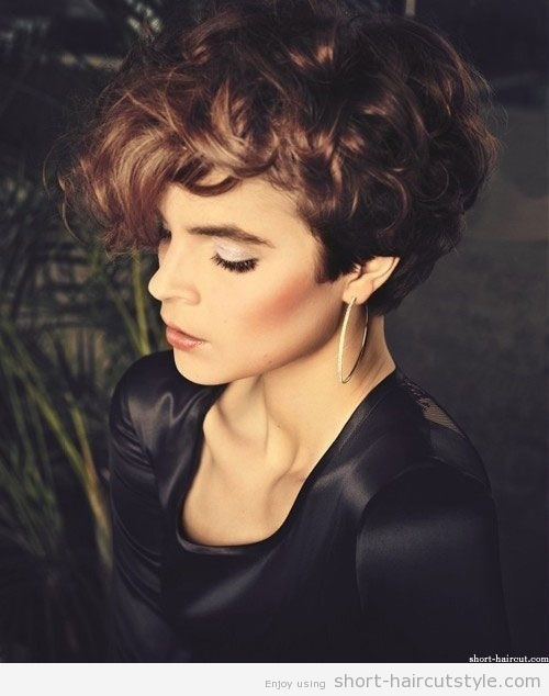 Pixie Cut For Naturally Curly Hair