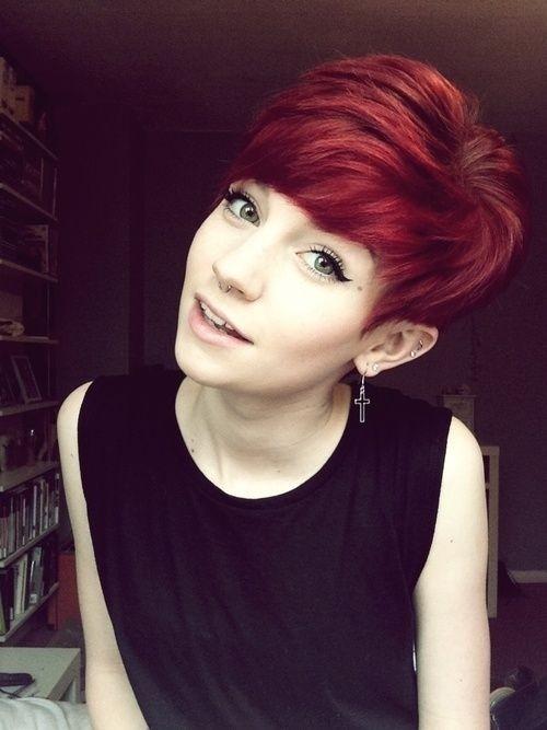 18 Short Red Haircuts Short Hair For Summer&Winter PoPular Haircuts