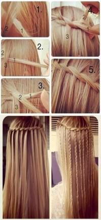 11 Waterfall French Braid Hairstyles: Long Hair Ideas ...