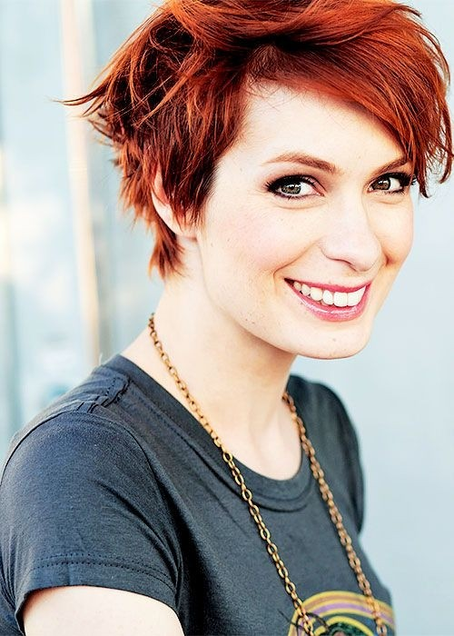 18 Short Red Haircuts Short Hair For Summer&Winter PoPular Haircuts