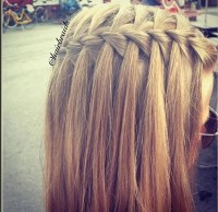 11 Waterfall French Braid Hairstyles: Long Hair Ideas ...