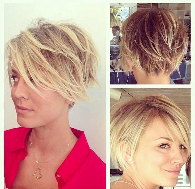 Messy Layered Short Hair Cute Hairstyles for Summer 2014  2015  PoPular Haircuts