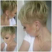 spikey pixie haircut short shaved
