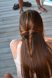 cute hairstyles long straight