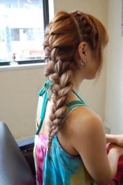 braid long hair - popular
