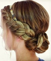 pretty braided updo hairstyles