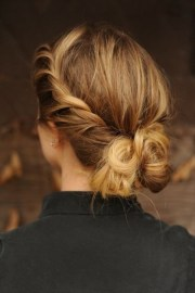 pretty french twist updo hairstyles