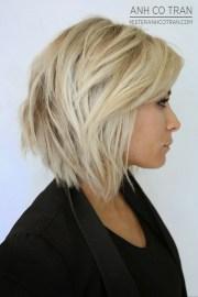 chic stacked bob haircuts short