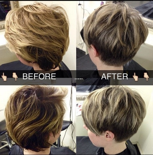 18 Latest Short Layered Hairstyles Short Hair Trends for 2018  PoPular Haircuts