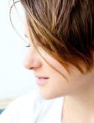 Shailene Woodley Short Haircut: Ombre Bangs