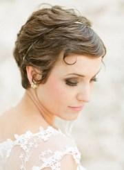 pretty wedding updos short
