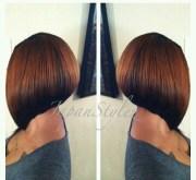 chic short bob hairstyles black