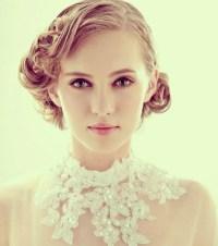 10 Pretty Wedding Updos for Short Hair