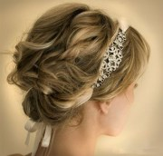 pretty wedding updos short