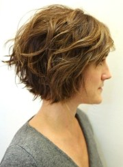 shaggy bob haircut ideas