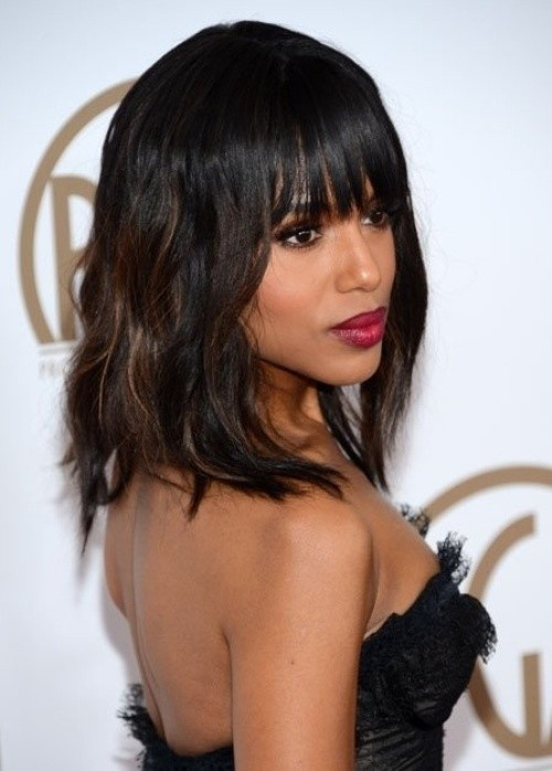 10 New Black Hairstyles With Bangs PoPular Haircuts