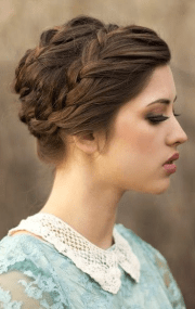 quick and simple updo hairstyles