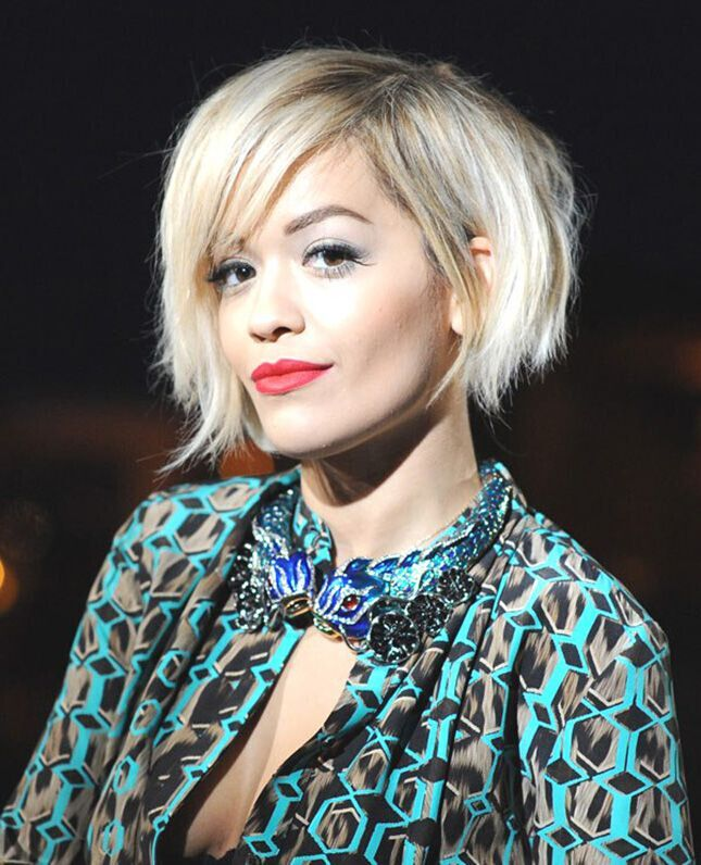 Asymmetrical Short Bob : asymmetrical, short, Short, Hairstyles, Girls:, Without, Curls!, PoPular, Haircuts